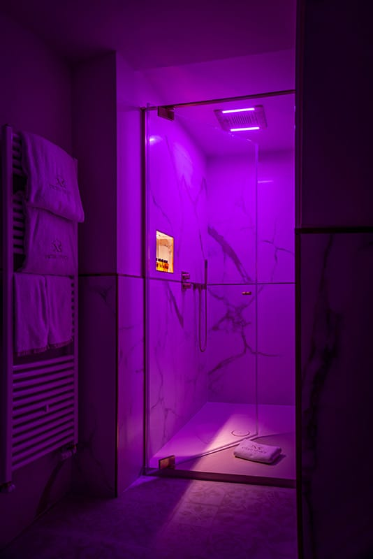 bathroom chromotherapy in every room