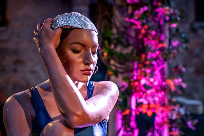 "Carole Feuerman, ""The Midpoint"". In collaboration with BelAir Fine Art Gallery"