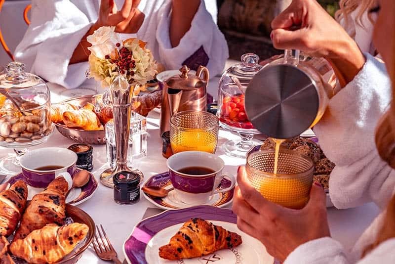 Garden Breakfast Excess Venice Hotel
