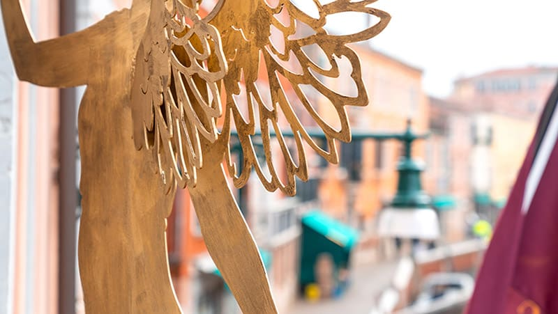 Excess Venice Hotel has new Angel to protect and lead the way during Season's Greetings